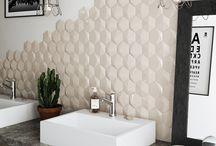 Modern Hexagonals / Hexagonal shape tiles