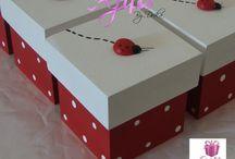 caixas decoradas lembrancinhas