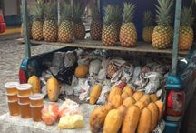 This is how we buy fruit in Mexico! / Fun shots around Puerto Vallarta and Mexico of how we buy fruit and veggies the old timey way. Freshly picked, local and oh-so-delicious!