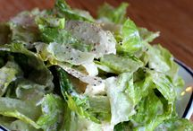 Lettuce Salads / Whole food, plant-based Nutritarian Lettuce Salad recipes brought to you by Love Chard - www.LoveChard.com