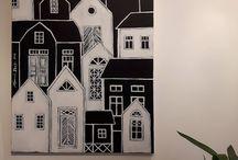 Paintings by Hammi´s Design / https://hammisdesign.fi