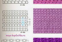 tejido. crochet