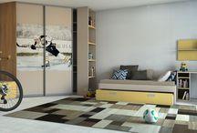 Nábytok do detských izieb na mieru / Children's room custom furniture / Nábytok vyrobený na mieru do detských izieb od riešení pre najmenších až po študentské izby,