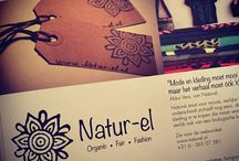 Natur-el ( www.natur-el.com) / Organic - Fair - Fashion  Zwaanshals 344, Rotterdam The Netherlands