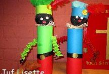 Sinterklaas: knutselen en activiteiten / Leuke ideeën om met de kinderen te doen en maken rondom sinterklaas.