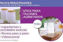 Productos Cosmética Natural / Productos específicos para elaborar nuestra cosmética natural.