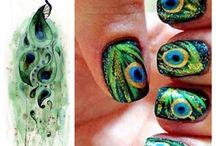 Peacok nails / by Sarah Godinez