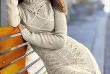 Knitting / Вязание / Dresses