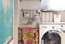 laundry room / by Elsie Larson of A Beautiful Mess