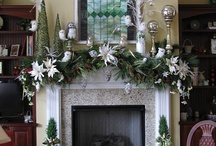 Mantle Piece Decorations- Pinterest / These mantle piece decorations are beautiful, and they would look even better with a BFM Fireplace or stove!  All pictures do not belong to BFM Europe, they have been found on Pinterest.