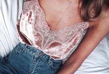 Pretty tops + lingerie + lace / tops, lace, lingerie