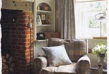 Sitting room - rustic chic