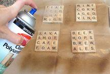 Scrabble ideas / by Julie Abbamondi