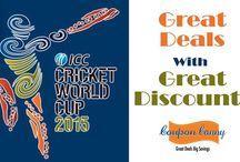 Cricket World Cup 2015 Deals