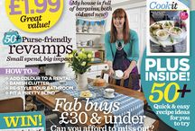 My Published Magazine Covers and Features / My collection of magazine covers and feature articles in national interiors magazines, such as Real Homes, https://www.realhomesmagazine.co.uk/author/nicola-wilkes/, Ideal Home, Style at Home, Beautiful Homes...