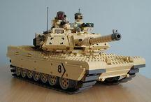 Lego – Tanks & vehicles