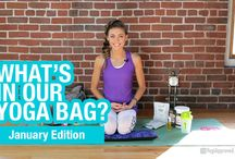 What's in Your Yoga Bag?