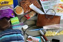 Gluten Free On-The-Go and Travel / Carry-on bag ideas, road trip snacks, and on-the-go in general!