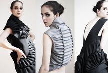 sculptural fashion