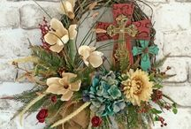 wreaths / by Jennette Witmer-Hernandez