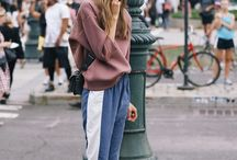 STYLED//SPORTY TOPS/SWEATSHIRTS / by Thrifted & Modern