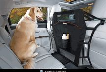 Pet Vehicle Barriers and Restraints / Products to make pet travel easier.