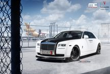 "Rolls Royce Ghost l Vellano VUH 22"" Concave / Stunning Rolls Royce Ghost sitting on a set of Beautiful Vellano VUH 22"" Concave"