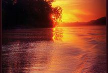 sunset or sunrise