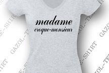 Tee-shirt Madame