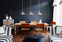 DINNER AT EIGHT -- DINING ROOMS & TABLETOP