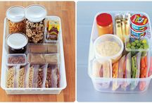 Food: Lunch Box / Ideas for kids' lunch boxes.