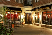 Witherspoon Grill  Princeton, NJ / Witherspoon Grill. Combining exceptional food, drinks and service with a refined, casual setting, Witherspoon Grill is one of New Jersey's premier steakhouse destinations. Located in the heart of downtown Princeton, Witherspoon Grill is the perfect place to meet for an extraordinary dining experience.