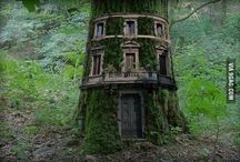 sprookjes huizen / kleine fantasie huisjes