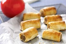 Burgers, pies and sausage rolls / by Jo Rudd