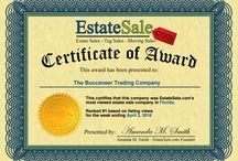 Buccaneer Trading Awards / Buccaneer Trading Company Awards