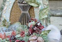 dress forms/decor cones