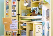 Craft Room Ideas and Storage