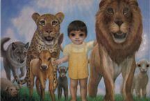 Margaret Keane art / Please look up her life story!   / by Amber Mendez