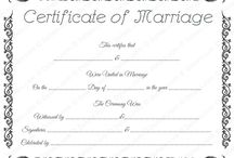 Printable Marriage Certificates / Use our elegantly designed marriage certificate templates to personalize and write your own marriage certificate. All marriage certificate designs are available for Microsoft Word.