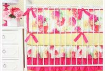Baby Girl Crib Bedding / by Saige Nicoles