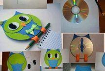 CD - recykling