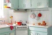 Kitchen Design - retro / From modern rustic to retro / by Currys PC World