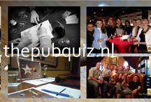 The Pubquiz / The Pubquiz, een op-maat-gemaakte quiz in teamverband! In 8 rondes een hilarisch uitje beleven met uw vrienden, collega's, teamgenoten of familie! www.thepubquiz.nl