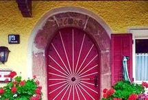 Doors, Door Knockers & Knobs / Just doors the shabbier the better, also interesting door knobs and knockers
