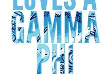 Gamma Phi Beta <3 / by Robyn Eichorn