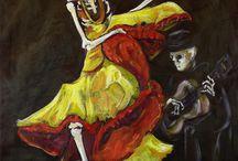 Dia de los Muertos and Halloween