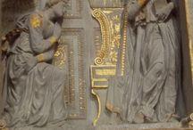 Donatello: Annunciazione. Firenze, S. Croce / Donatello: Annunciazione. Firenze, S. Croce
