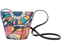 My Mama's Bag - Midnight Blossom / Women Leather Handbags, Limited Edition Designer Leather Bag COLOURS OF MY LIFE - Limited Edition wearable art signed by Anca Stefanescu.