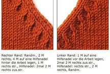 Knitting / Neck bands