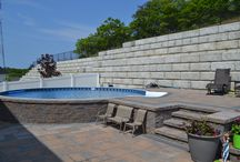 "Radiant Pools Backyard Innovators Challenge! / We've challenged our dealers to show us their best Radiant Pool solutions to their customers' backyard challenges. We'll be collecting entries and sharing them on here through August 15, 2016. Then we'll pick the winners in three categories: ""Aboveground"", ""Inground"", and ""Everything In Between""! Let us know what you think! Please repin or like to show us your favorites!"